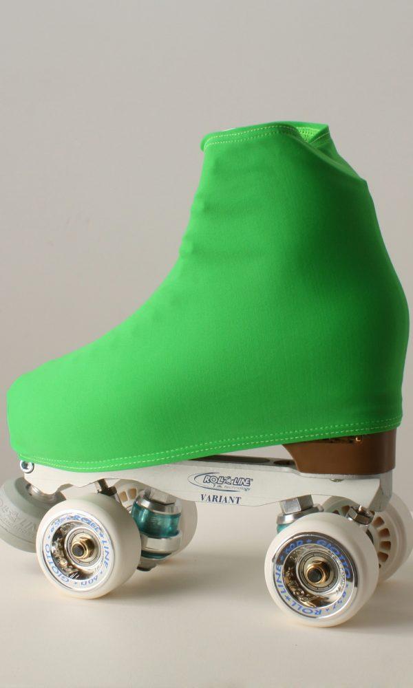 Funda patín lisa verde