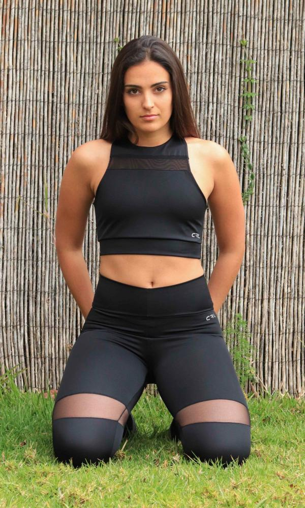Top deportivo Elegance Black