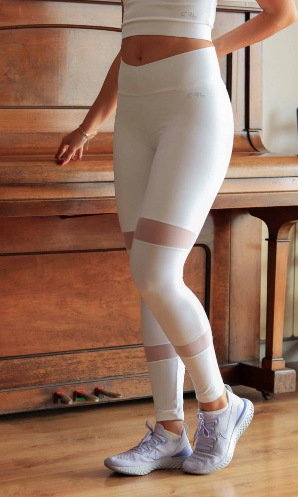 Leggins Elegance White