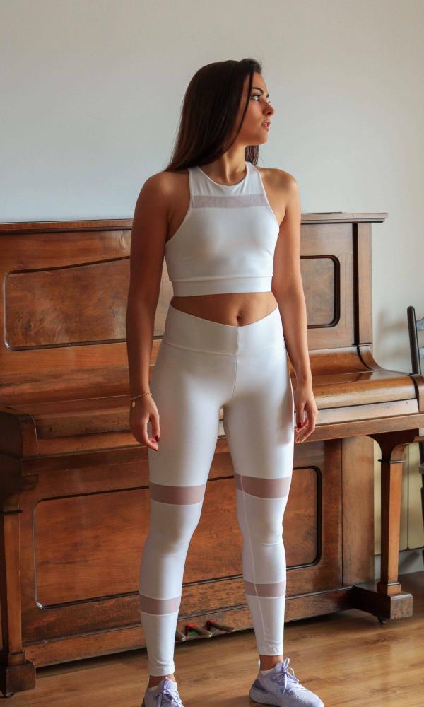 Conjunto Elegance White