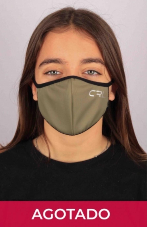 Máscara Verde Militar