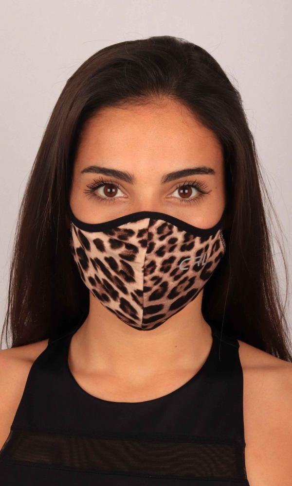 Mascara Leopardo Oscura