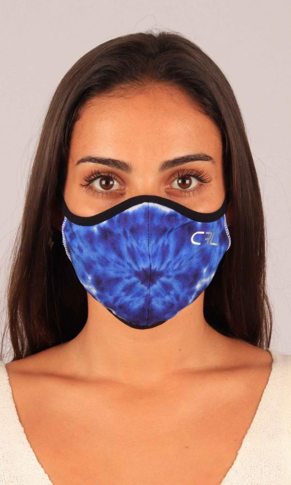 Máscara Sol Azul Oscuro
