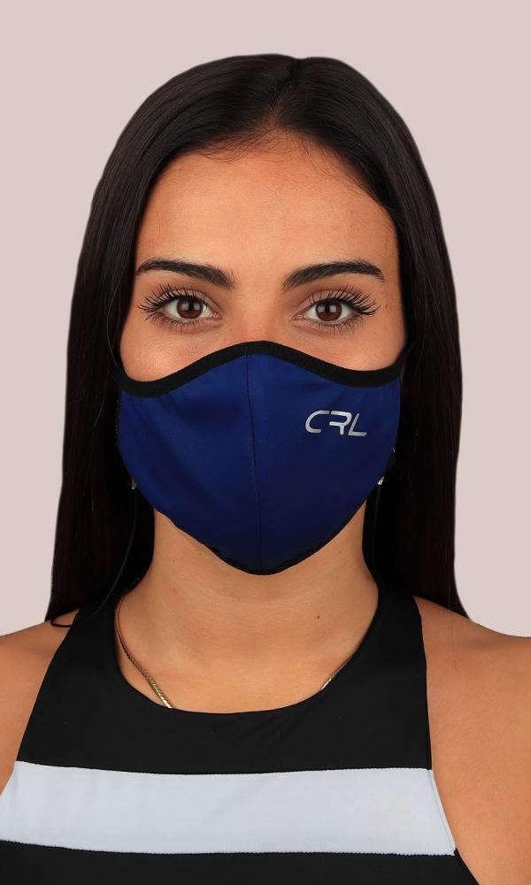 Máscara Azul Marino