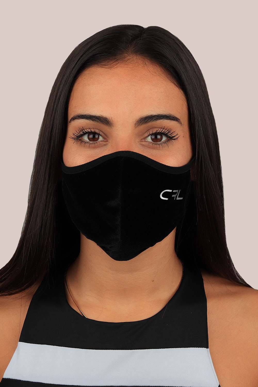 Máscara Negra Terciopelo